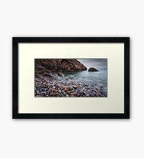Brandy Cove Gower Swansea Framed Print