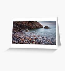 Brandy Cove Gower Swansea Greeting Card