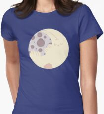 The Rabbit In The Moon Women's Fitted T-Shirt