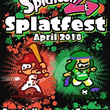 Splatfest 2 Baseball vs Soccer by KumoriDragon