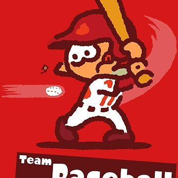 Splatfest 2 Team Baseball v.2 by KumoriDragon