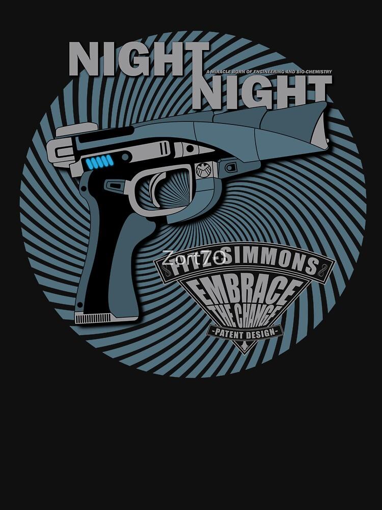 Night Night Gun - Embrace The Change by Zort70
