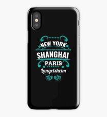 Langelsheim - Our city is not a Weltmertopole but you should. iPhone Case/Skin