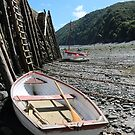 A Boat at Low Tide by kalaryder