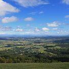 Scenic hilltop view by MattFultonComAu