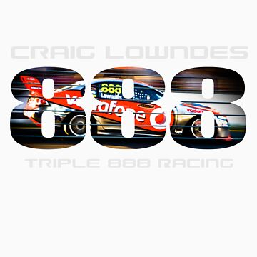 Craig Lowndes - Triple 888 Racing by TheFatman