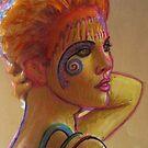 Painted Herselfie  by ellamental