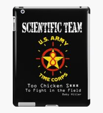Time Corps Scientific Team  iPad Case/Skin
