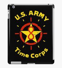 US ARMY TIME CORPS LOGO iPad Case/Skin