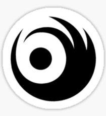 LIGHTS Skin & Earth Black Logo Sticker