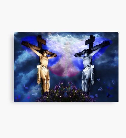 """TheLastTemptationOfChrist"" Canvas Print"