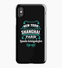 Lauda - Our city is not a world maltopole but it should. iPhone Case/Skin