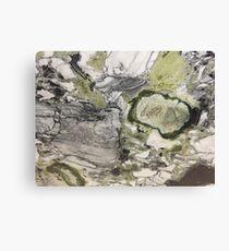 Green Quartzite 2 Canvas Print