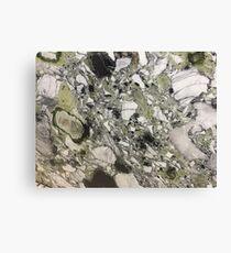 Green Quartzite 4 Canvas Print