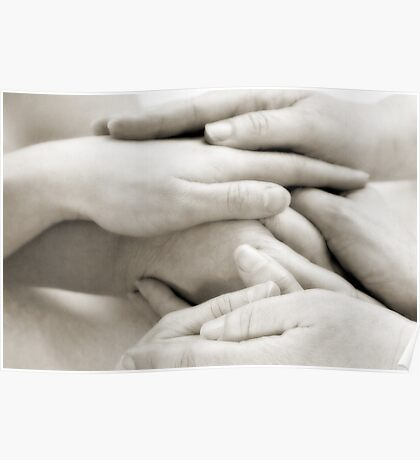 Hands: Togetherness Poster
