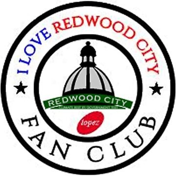 I Love Redwood City Fan Club Phone Case 4101 by cisco119