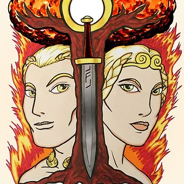 Siegfried & Brunhilde by Thoughtmasons