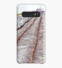 Old one mile jetty - Carnarvon, WA, Aus Case/Skin for Samsung Galaxy