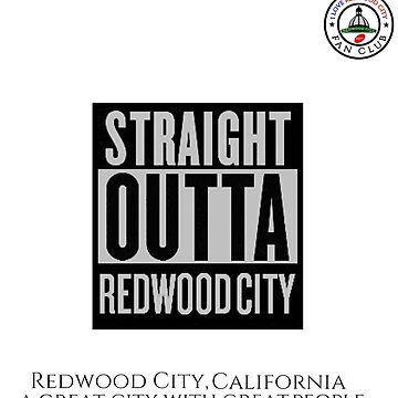 I Love Redwood City Fan Club Phone Case 4301 by cisco119