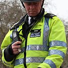 English mounted police man by imogen
