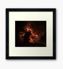 chocolate space Framed Print
