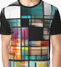 Modern Art Abstract Graphic T-Shirt