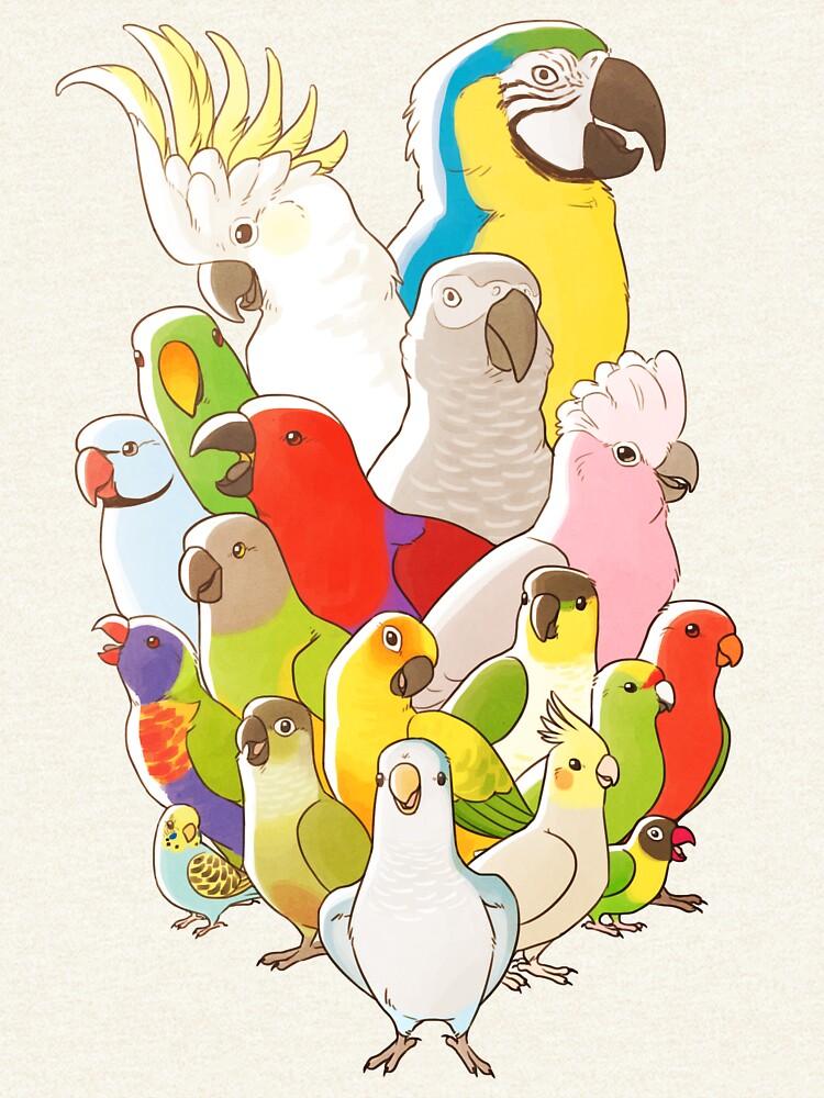 Papageien-Party von JenTuyet