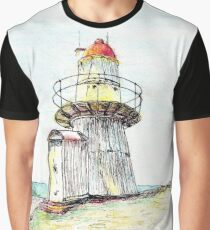 Lighthouse - Cooktown, Qld, Aus Graphic T-Shirt