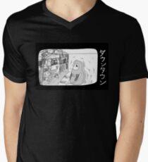 Downtown Tokyo Men's V-Neck T-Shirt