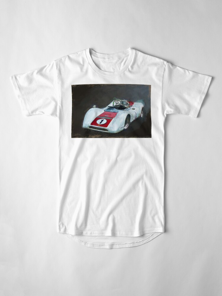 Alternate view of White Can-Am Lola T160 Long T-Shirt