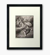 Little Shakespeare Dreaming Framed Print