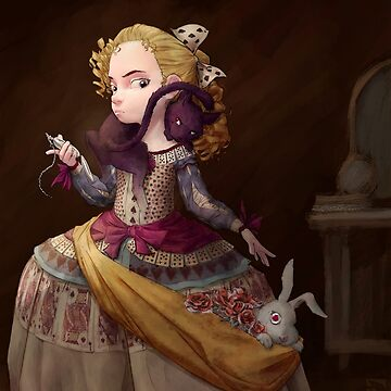 Princess antique painting by goblinight