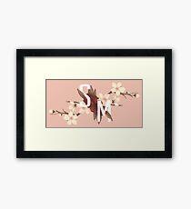 SM japan flower Framed Print