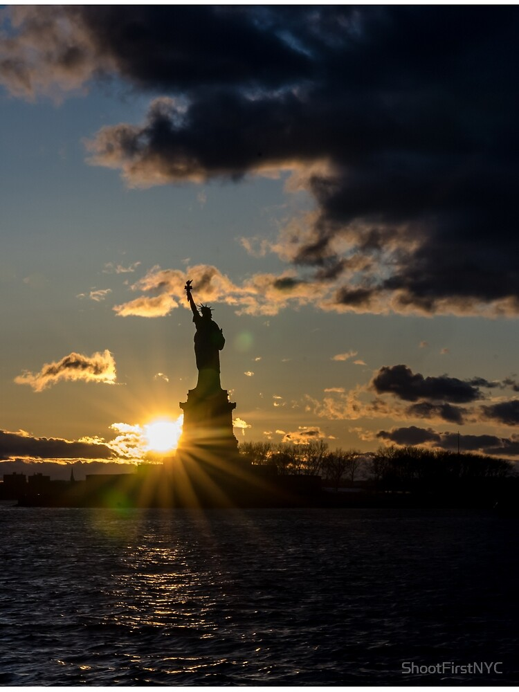 Liberty Sunburst NYC by ShootFirstNYC