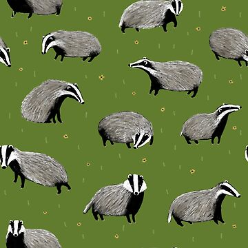 Badger Pattern by SophieCorrigan