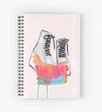 Rainbow platforms. Spiral Notebook