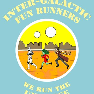 Inter-galactic fun runners by Alan67Q