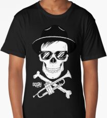 Timmy Trumpet Skull Long T-Shirt
