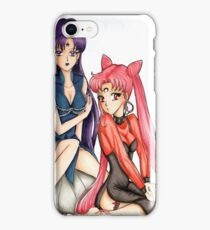 Sailor Moon Black Lady & Mistress9 iPhone Case/Skin