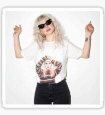 Hayley Williams wearing a Hayley Williams Shirt Sticker