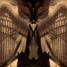 Chartres Angel Montage by Virginia Maguire