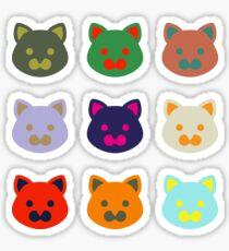 9 lives Sticker