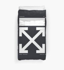 Off-White Arrows Temperature (Updated) Duvet Cover