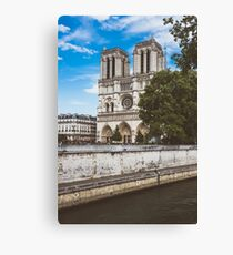 Cathedral of Notre Dame in Paris Canvas Print