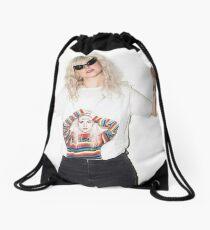Hayley Williams wearing a Hayley Williams Shirt Drawstring Bag