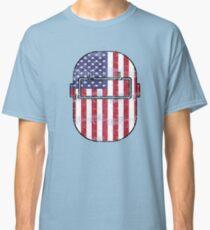 American Welder USA Flag Hood Classic T-Shirt