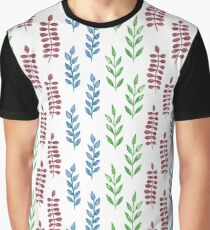 Colorful watercolor leaves  Graphic T-Shirt