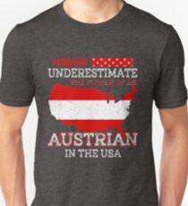 Austrian In USA T-Shirt Unisex T-Shirt