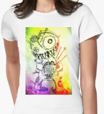 Voodoo doll  Women's Fitted T-Shirt