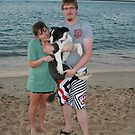 18. Craig & Sam with their Border Collie by Cathie Brooker